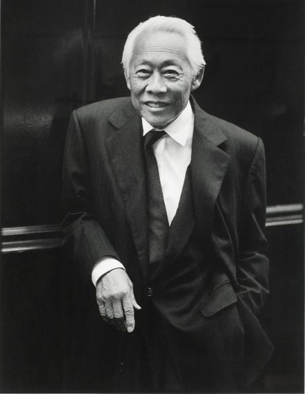 Portrait Zao Wou Ki